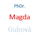 PhDr. Magda Gubová – logo společnosti