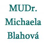 MUDr. Michaela Blahová – logo společnosti