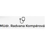 MUDr. Radvana Kompérová – logo společnosti