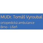 MUDr. Tomáš Vyroubal Ortopedická ordinace – logo společnosti