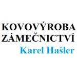 Hašler Karel - zámečnictví - kovovýroba – logo společnosti