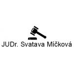 JUDr. Svatava Míčková- advokátní kancelář – logo společnosti
