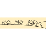 MUDr. Hana Jičínská – logo společnosti