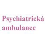 Psychiatrická ambulance – logo společnosti