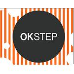 OK STEP s.r.o. - podlahové studio a interiérový design Pardubice – logo společnosti