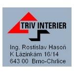 Hasoň Rostislav, Ing.- Triv interiér – logo společnosti