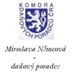 Bc. Němcová Miroslava - daňový poradce a účetní – logo společnosti