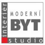 Moderní byt, interiérové studio – logo společnosti