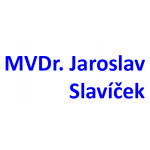 MVDr. Jaroslav Slavíček – logo společnosti