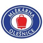 Mlékárna Olešnice, rolnické mlékařské družstvo. Zkráceně Mlékárna Olešnice,RMD – logo společnosti