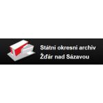 Moravský zemský archiv v Brně - Státní okresní archiv Žďár nad Sázavou – logo společnosti