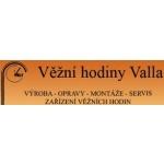 VĚŽNÍ HODINY VALLA – logo společnosti
