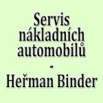 Heřman Binder - servis nákladních automobilů – logo společnosti