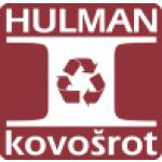 HULMAN - kovošrot, s.r.o. – logo společnosti