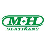 M + H Slatiňany – logo společnosti