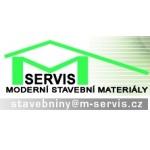 Vít Mátl- M-SERVIS - MODERNÍ STAVEBNÍ MATERIÁLY – logo společnosti