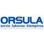 Oršula Pavel- servis, lakovna, klempírna – logo společnosti