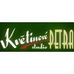 Květinové studio PETRA (pobočka Praha) – logo společnosti