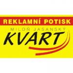 Jasanský Miloň - KVART reklamní potisk – logo společnosti