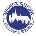 BOHEMIAN VENTURES, spol.s r.o. – logo společnosti