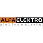 AlfaElektro - areál Zámecké nádraží ELEKTRO – logo společnosti