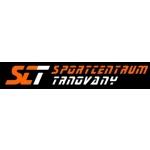 SCT Trnovany, s.r.o. - Sportcentrum, víceúčelová sportovní hala – logo společnosti