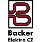 Backer Elektro CZ a.s. – logo společnosti