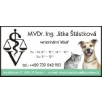 MVDr. Jitka Šťástková – logo společnosti