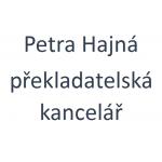 Petra Hajná- překladatelská kancelář – logo společnosti