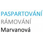 PASPARTOVÁNÍ, RÁMOVÁNÍ - Jana Marvanová – logo společnosti