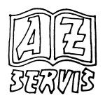 AZ servis Praha, spol. s r.o. - tiskařské práce a polygrafické služby – logo společnosti