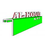 AL-KOVO s.r.o. - Hliníková okna, vchodové dveře, zimní zahrady, skleněné fasády – logo společnosti