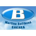 Bačíková Martina - BAKARA - ochranné a pracovní pomůcky – logo společnosti