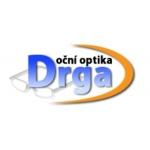 Drga - Oční optika – logo společnosti