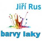 Rus Jiří - barvy, laky – logo společnosti