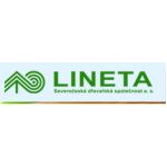 LINETA Severočeská dřevařská společnost a.s. – logo společnosti