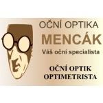 Oční optika Mencák – logo společnosti