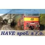 HAVE spol. s r.o. - Kolejová vozidla – logo společnosti
