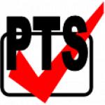 PTS spol. s.r.o. - požárně technické služby a požární bezpečnost (BOZP) – logo společnosti