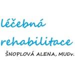 MUDr. Alena Šnoplová - rehabilitace Pardubice – logo společnosti