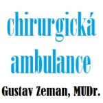 Gustav Zeman, MUDr. - chirurgická ambulance – logo společnosti