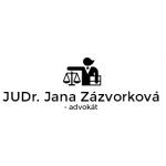 JUDr. Jana Zázvorková - advokát – logo společnosti