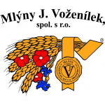 Mlýny J. Voženílek, spol. s r.o. – logo společnosti