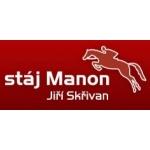 Skřivan Jiří - Stáj MANON – logo společnosti