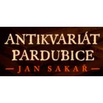 Antikvariát Jan Sakař – logo společnosti
