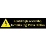 Ing. Pavel DIBLÍK - Elektrikář – logo společnosti