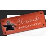 Pleskač Alexandr - Umělecké kovářství – logo společnosti