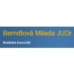 Berndtová Milada - notářka – logo společnosti