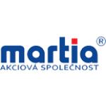 MARTIA a.s., Děčín – logo společnosti