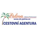 Cestovní agentura PALMA – logo společnosti